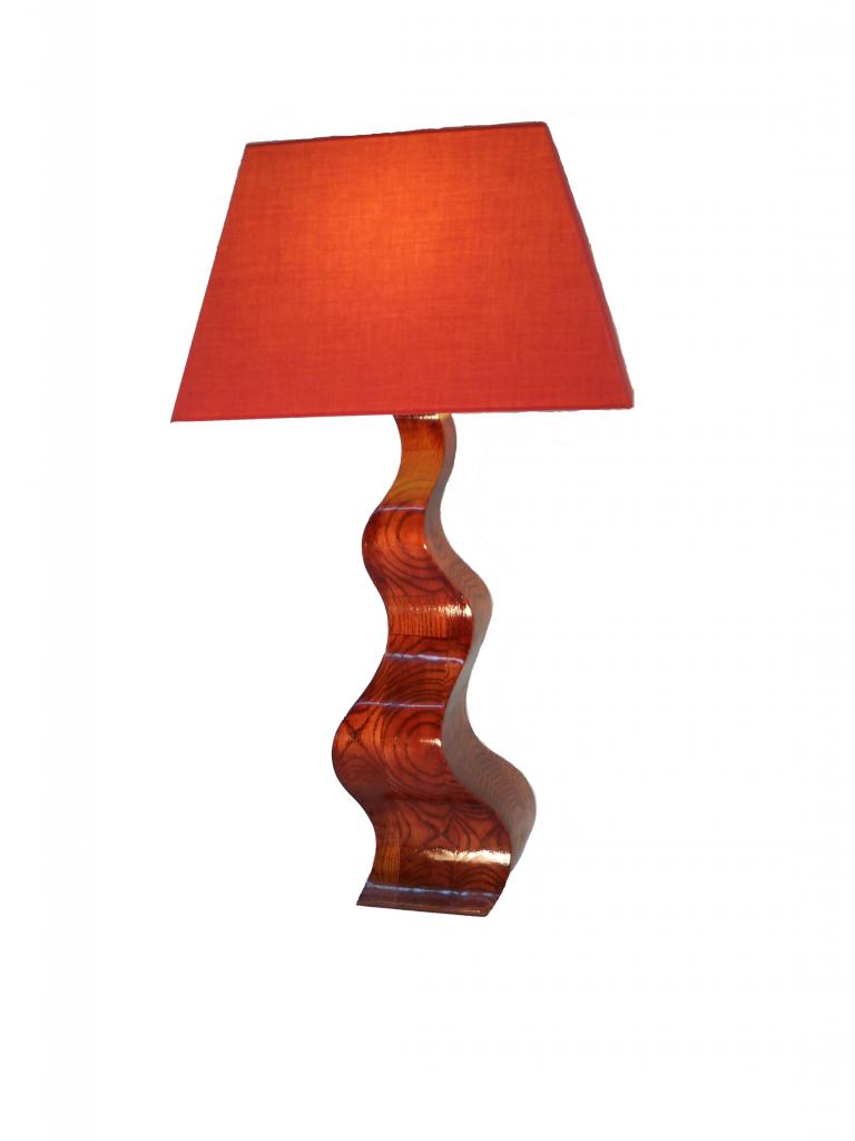 Lampe ondulee - VENDUE