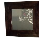 Miroir Papillon Rose et Bleu