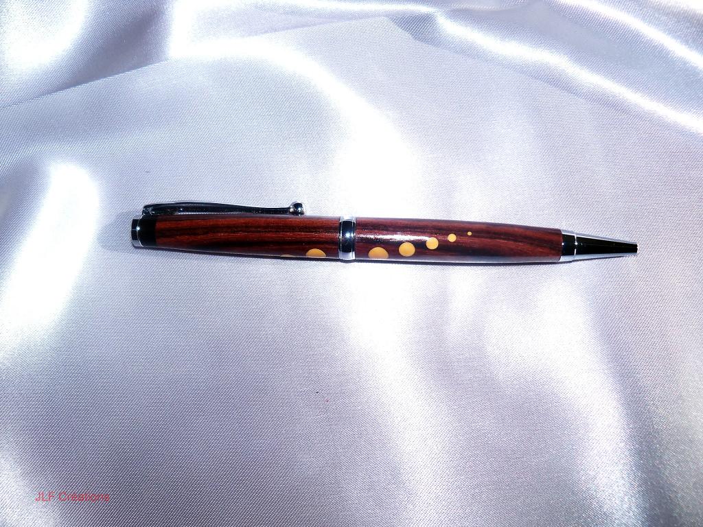 stylos3 - Bois de Violette, Buis et Ebène